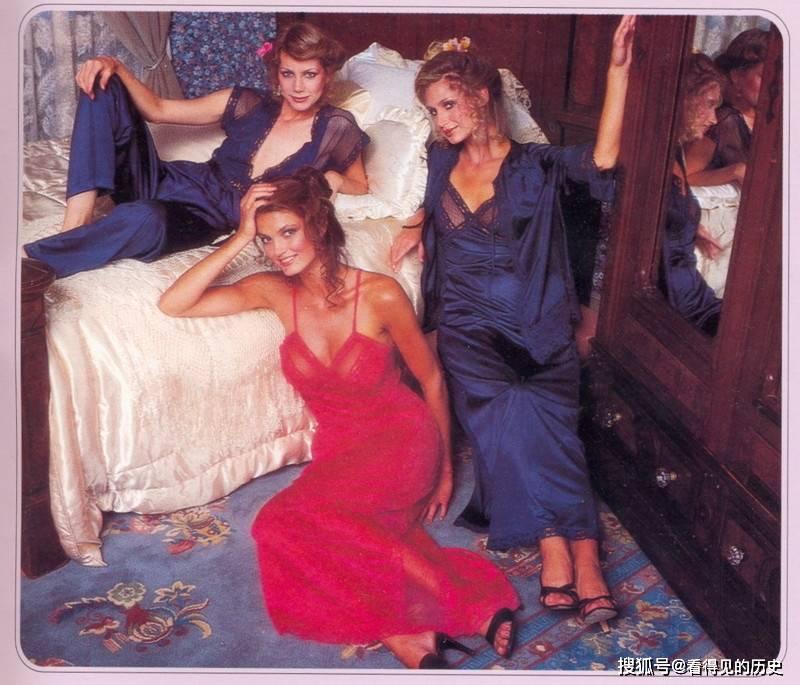 老照片 1979年维多利亚的秘密 美丽内衣秀