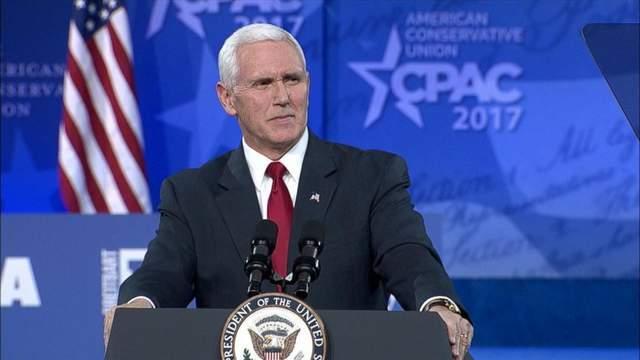 反击即将开始,2月28日特朗普将出席CPAC,彭斯却拒绝同台