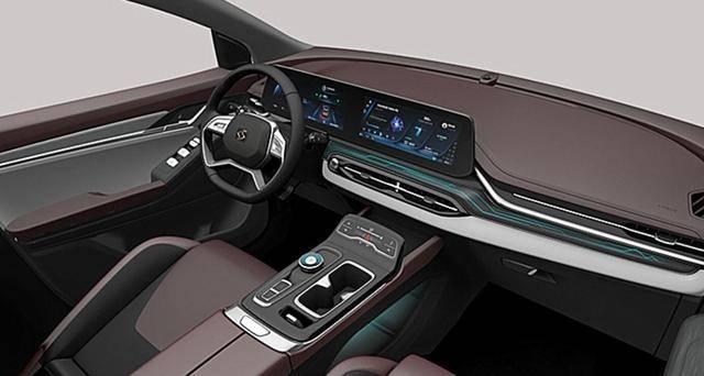 当年上市的江淮新款运动型SUV原厂被QX内饰曝光