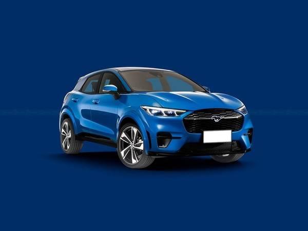 全新福特第二款纯电SUV渲染图曝光 预计2023年推出