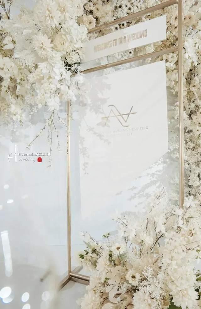 纯净静谧又立体饱满的水晶主题婚礼,我们的幸福