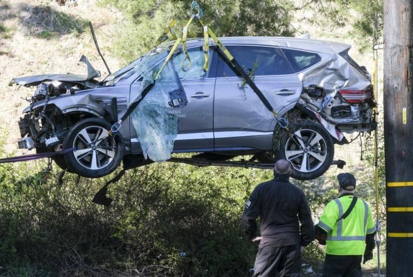 """原""""韩流289""""伍兹当时开的是创世纪GV80车祸。原因是什么?"""