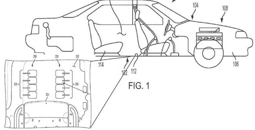 通用汽车申请汽车足部按摩系统专利