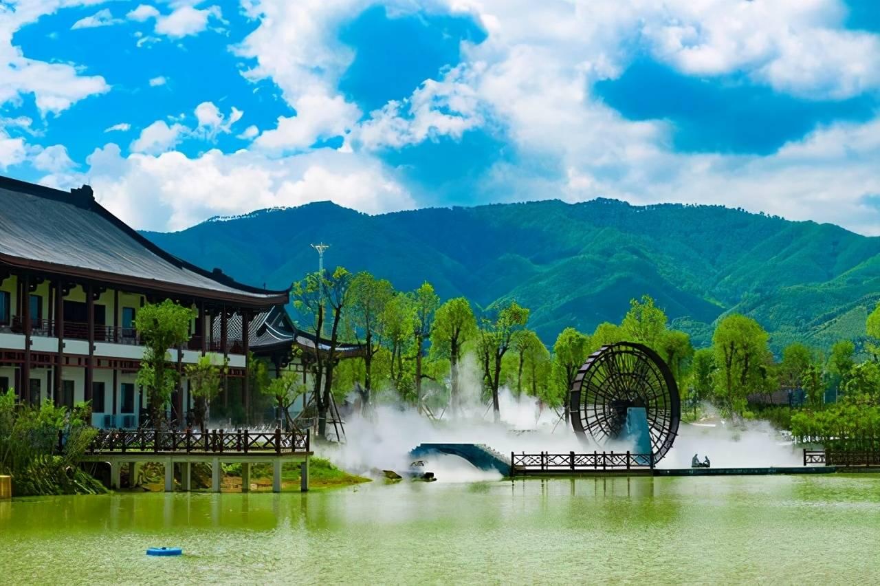"""广西有处园林,""""江、湖、山、田""""上都藏着长寿的秘密,你想去吗"""