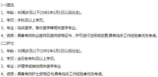 2021济宁曲阜机场有限公司招聘医护人员
