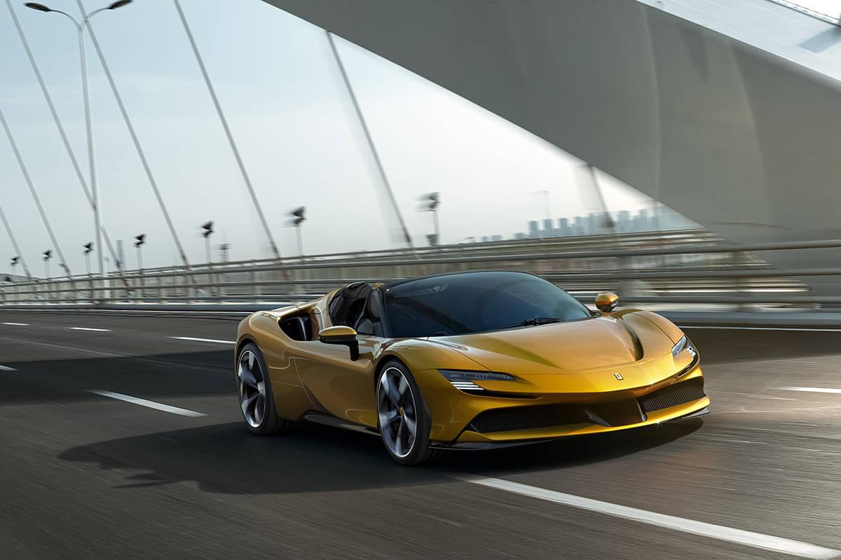 3月27日上海见 法拉利SF90 Spider即将国内首发