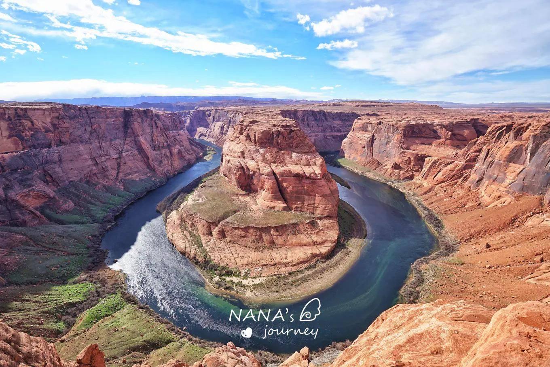形如马蹄的峡谷,如宝石色的河流,美国被誉为摄影天堂的地方
