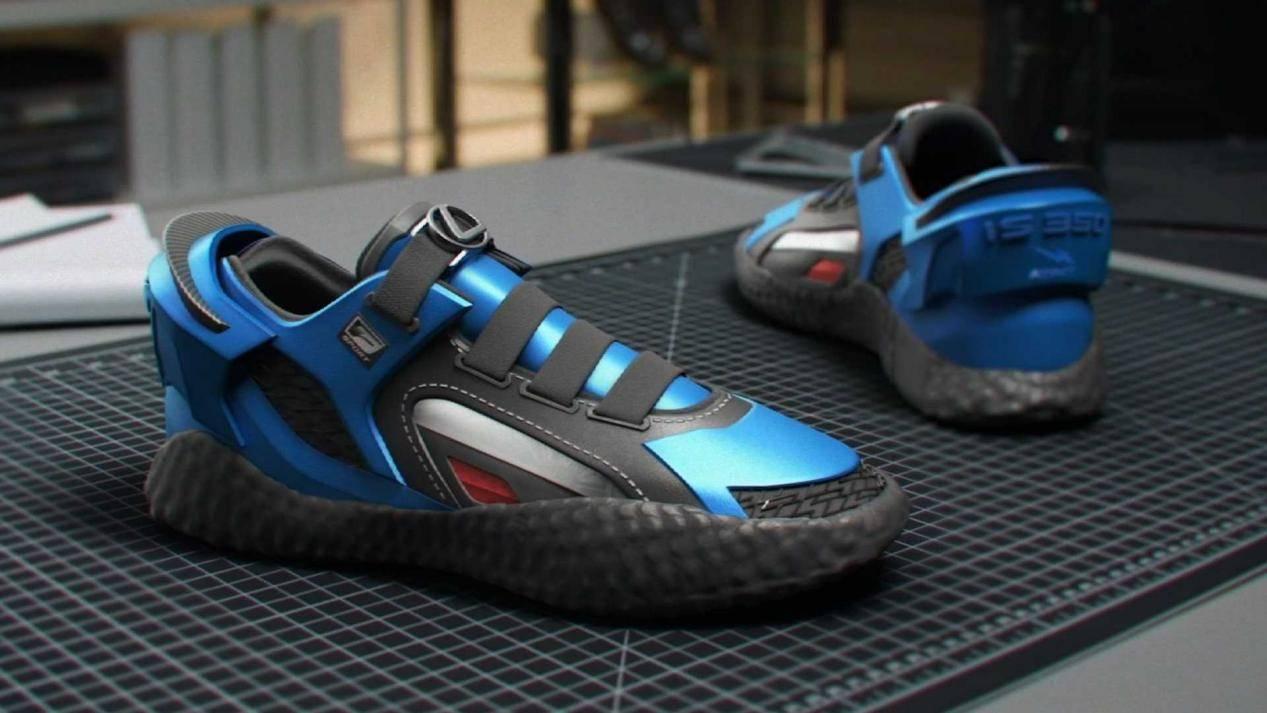 原创             雷克萨斯发布IS F SPORT运动鞋?这真是一双运动鞋