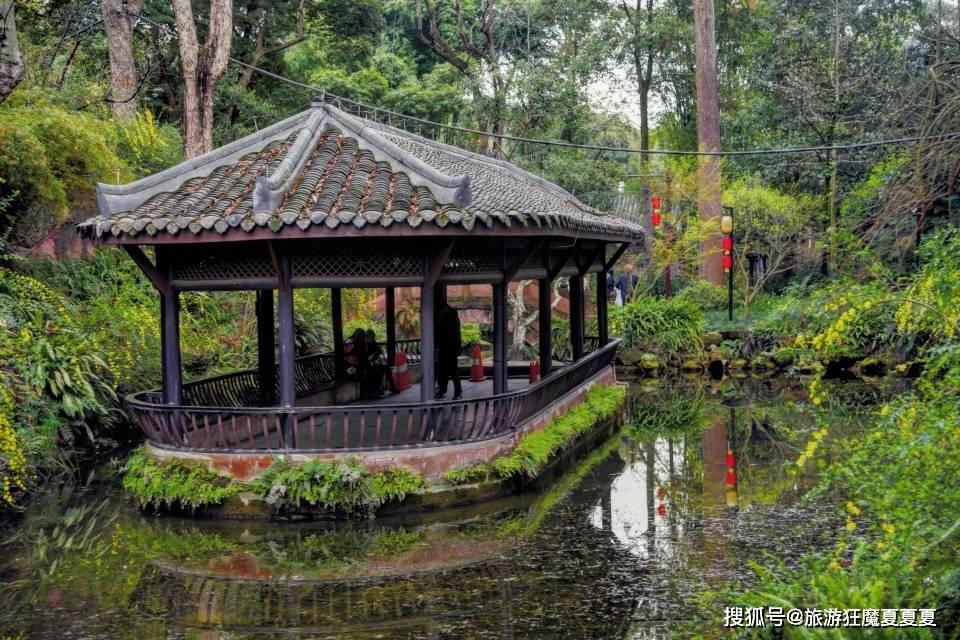 苏东坡故居见过吗?重建后也是国家级文物,风景不输成都杜甫草堂