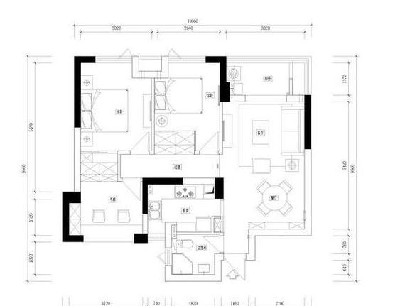 老婆花24万装修的89平博亿app新房,走廊收纳你绝对没见