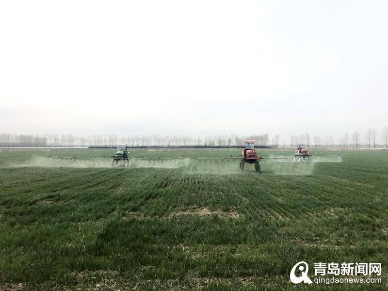 即墨:做好春季农业机械化生产服务