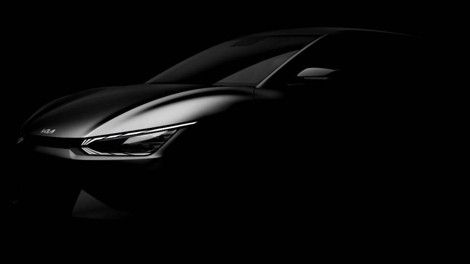 起亚公布首款电动车型 EV6预告图-亚博App