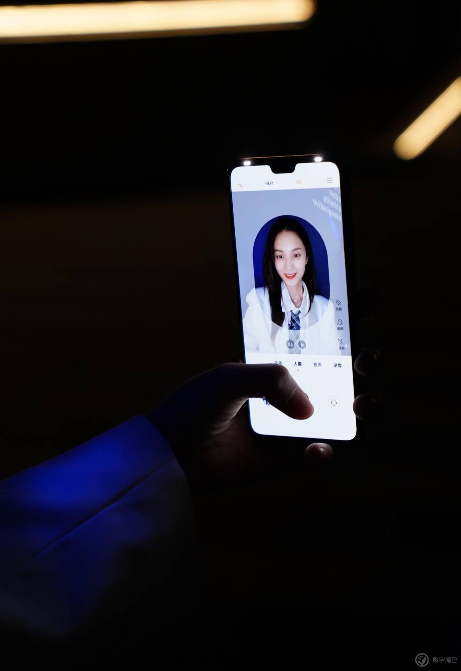 极夜也能留住美,这就是轻薄自拍实力派 vivo S9