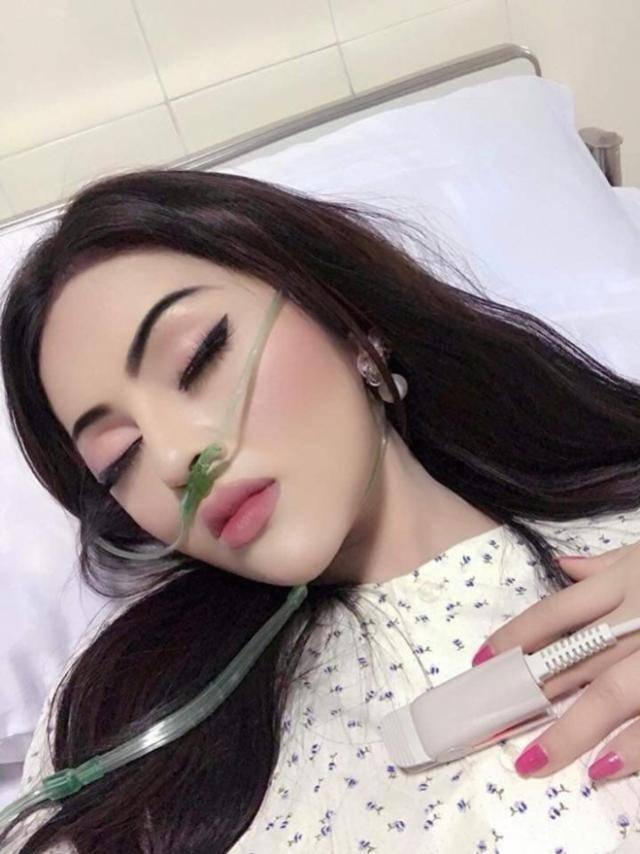 女孩住院得知男友要来探望,赶紧化了个精致的全妆引网友热议