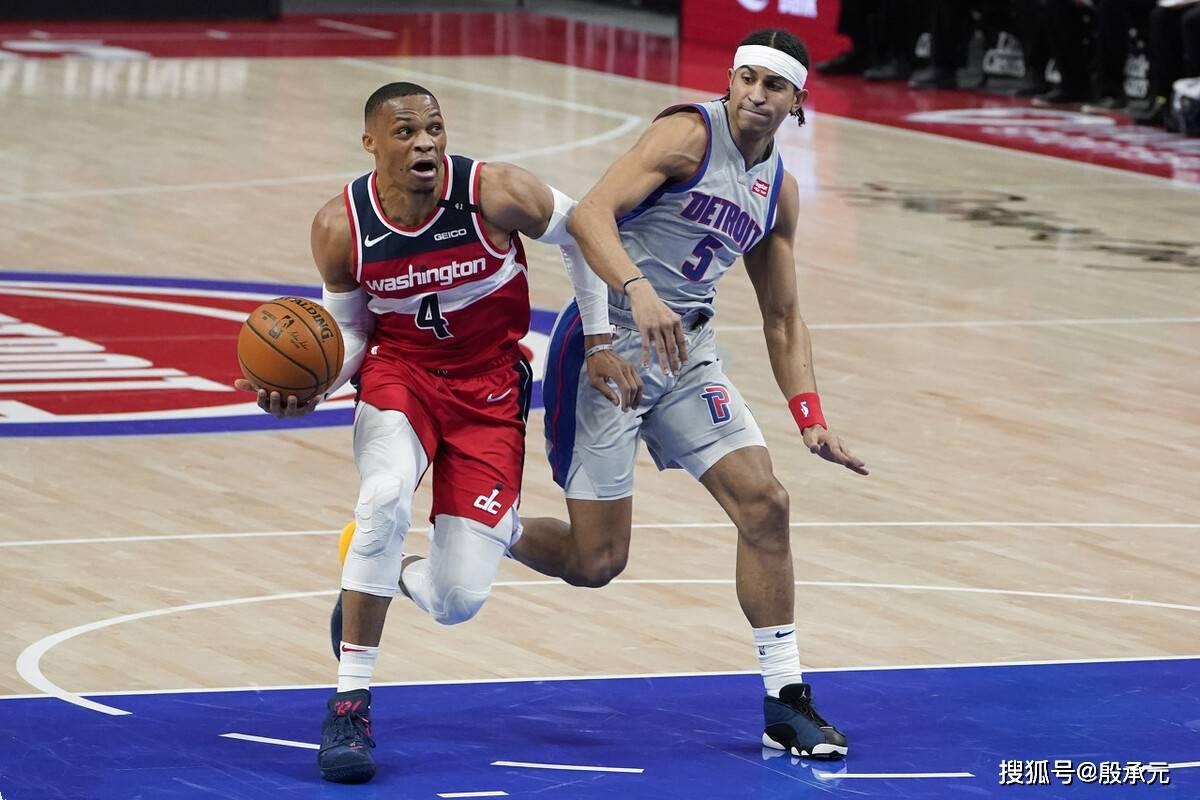 第五个赛季三双18+!韦斯布鲁克追平NBA历史第一