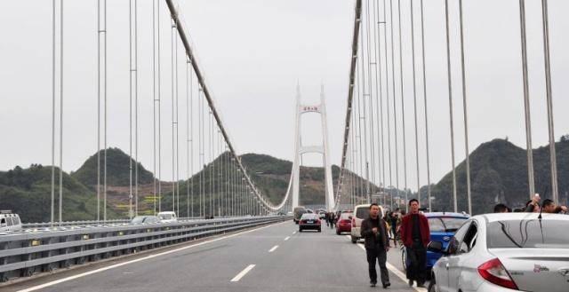 湖南一神奇的桥梁:打破四项全球记录,总投资超过15亿元