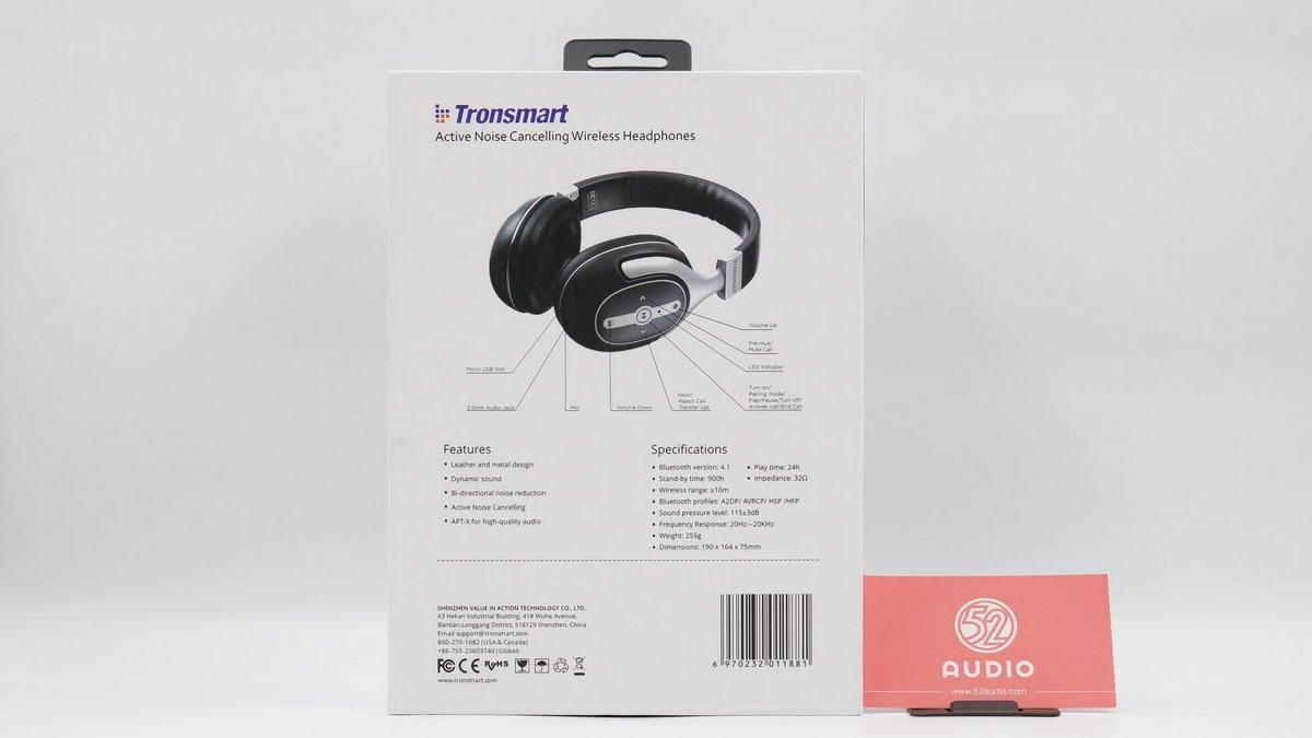 原创             拆解报告:Tronsmart Encore S6 头戴降噪耳机