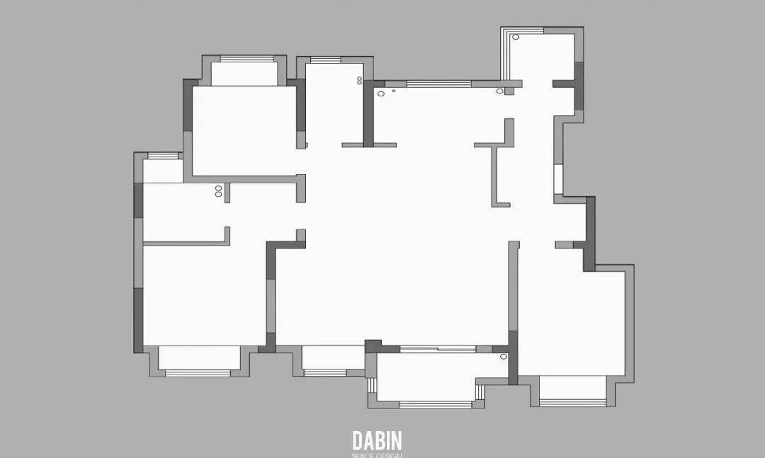 128平现代三居室,艺术感、轻奢风,你想要的全都有