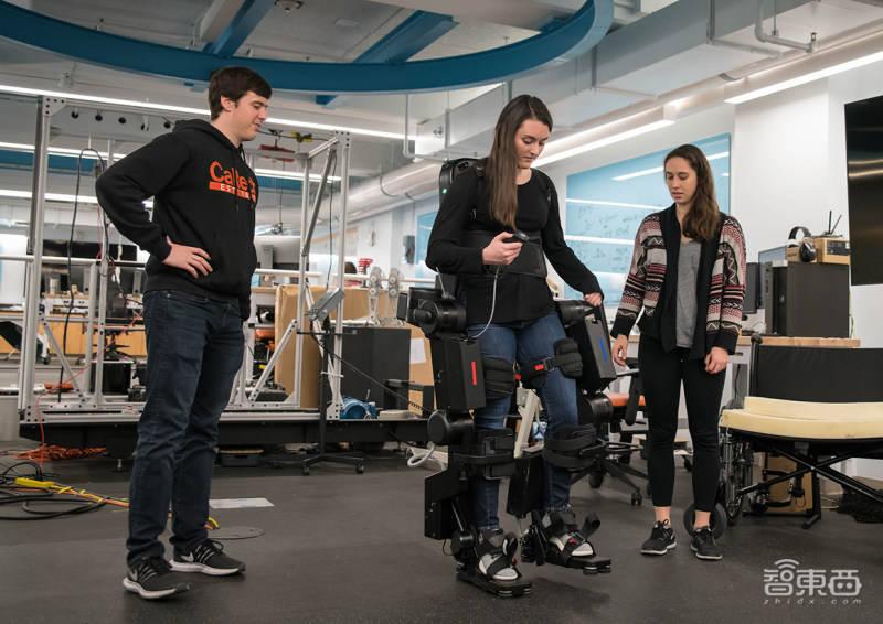 原创             爬楼太喘?外骨骼机器人来助力,还能自动识别行走环境