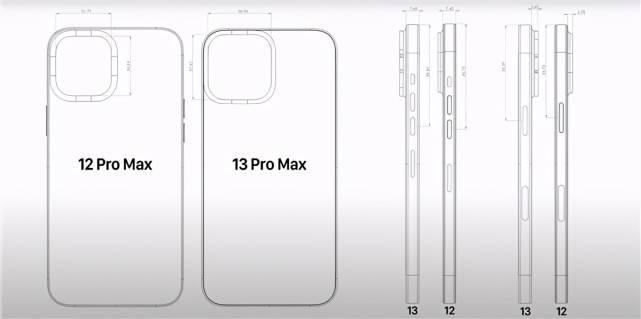 原创             iPhone13系列外观再无悬念,相机设计变化最大,拍照效果让人期待