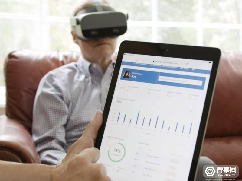 原创             REACT Neuro利用Pico Neo 2 Eye一体机检测老年人脑健康