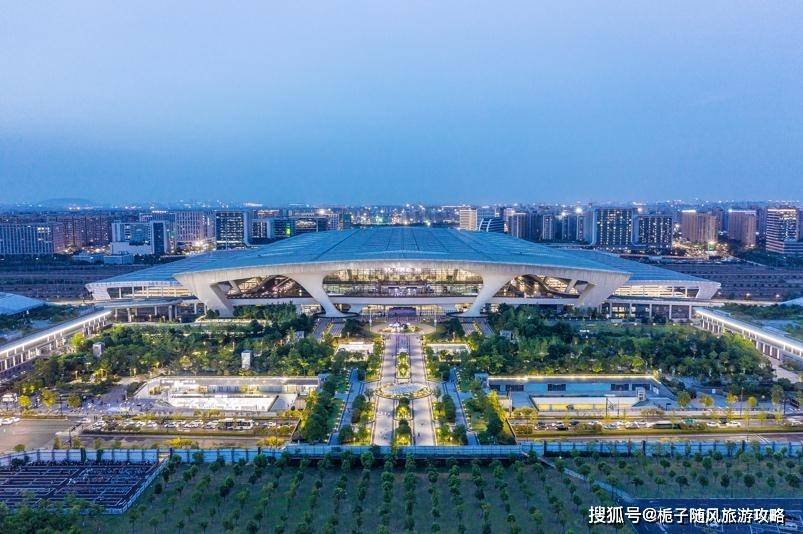 华东大型高铁枢纽——杭州东站的整体布局介绍