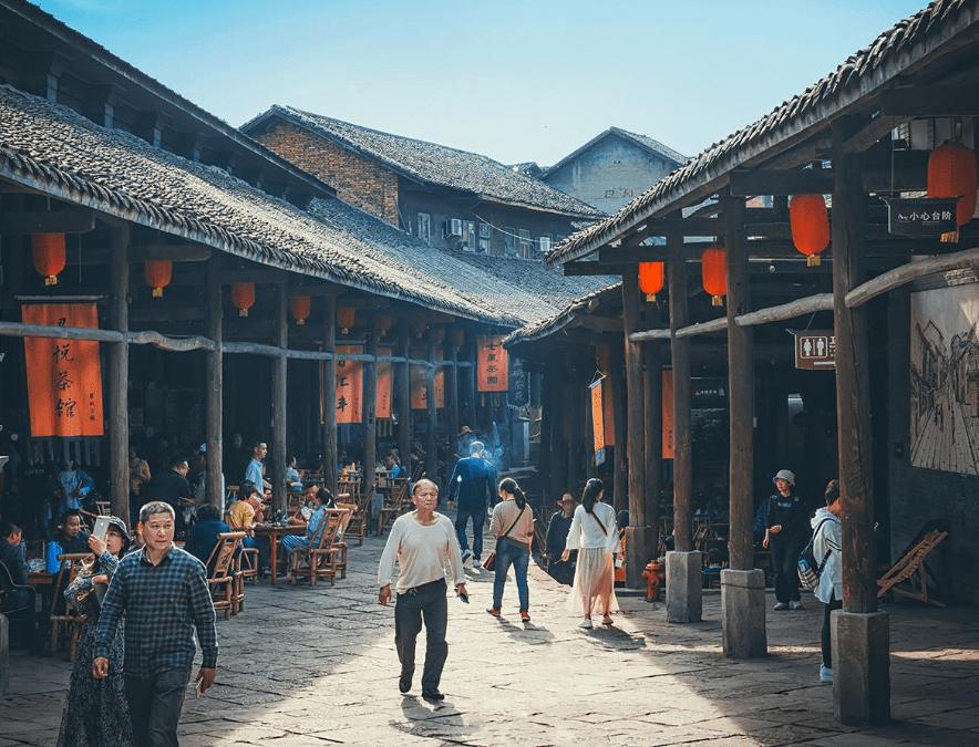 """四川一个超小众古镇,造型异常""""奇葩"""",号称""""中国的诺亚方舟"""""""