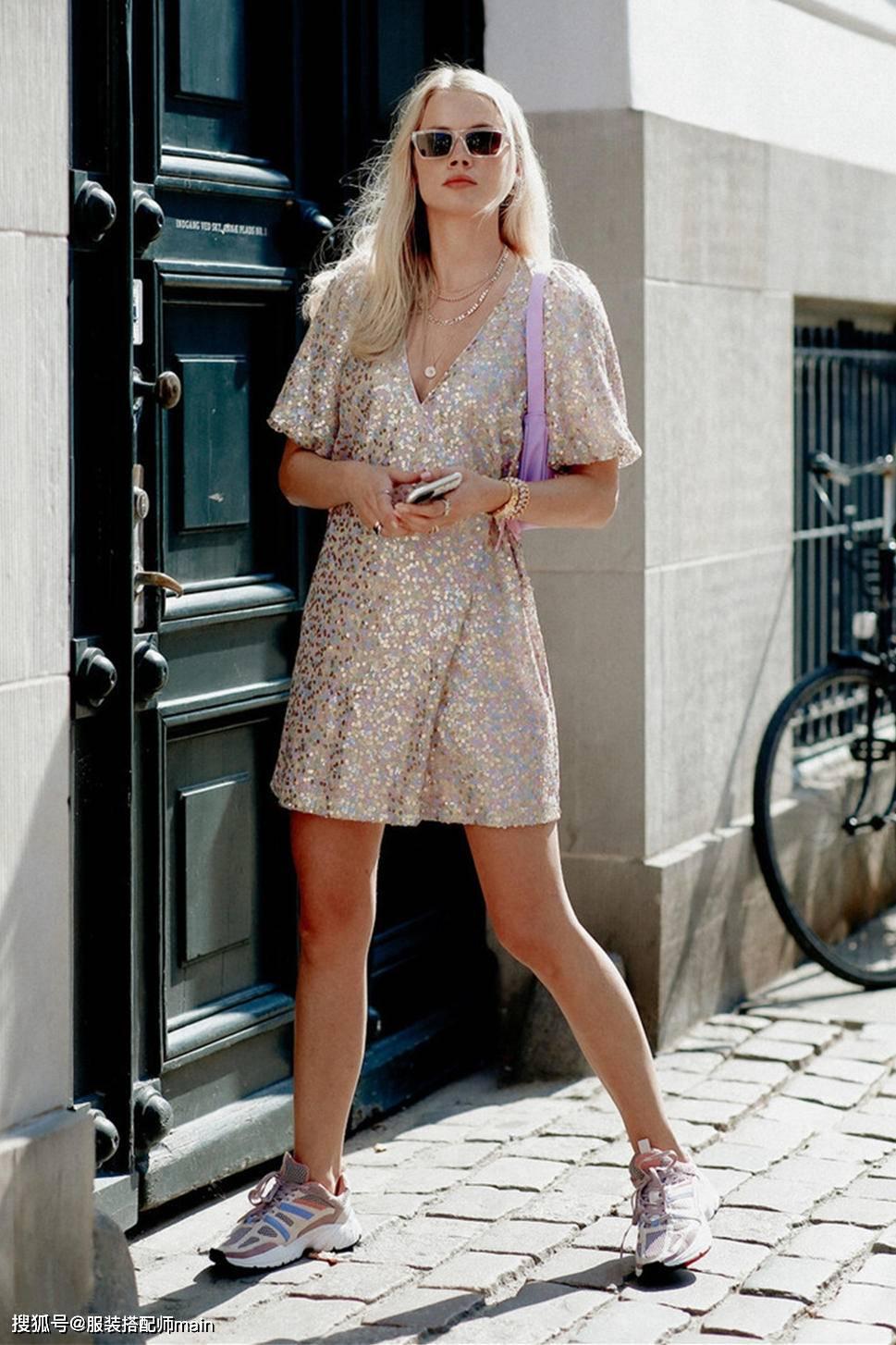 【骨架大女生怎么穿搭好看】杨紫的穿裙秘诀搞定骨架大难题