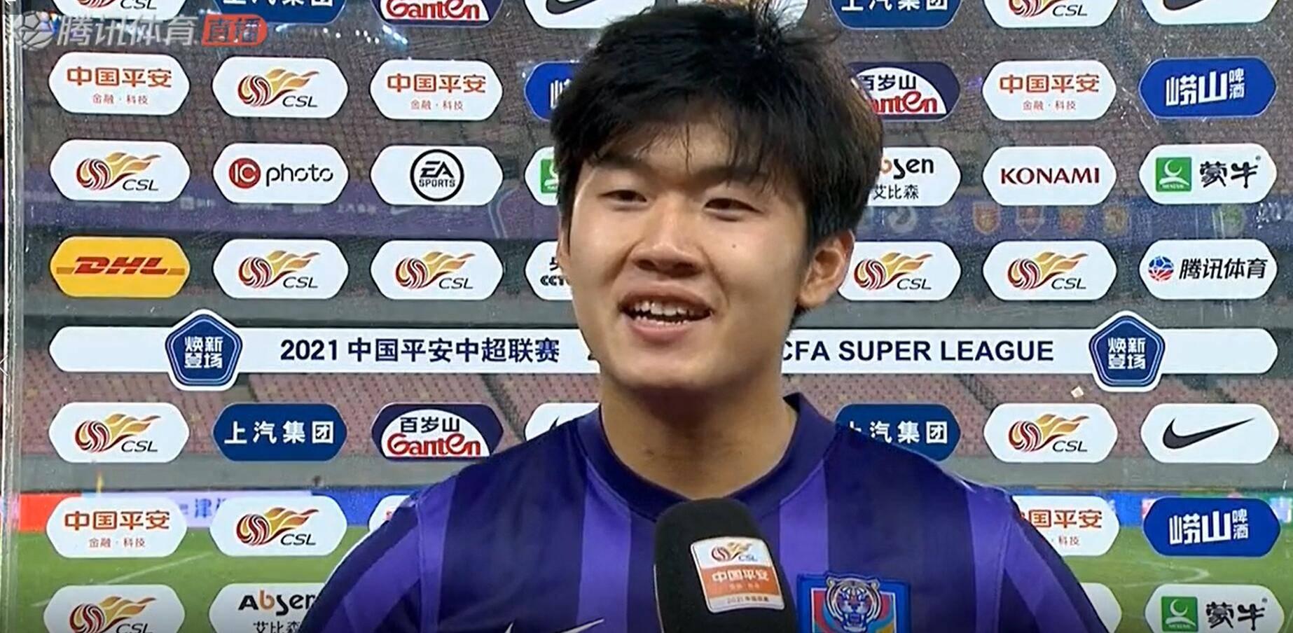 杨梓豪:津门虎拿到首胜非常激动,比赛从始至终贯彻于根伟的意图