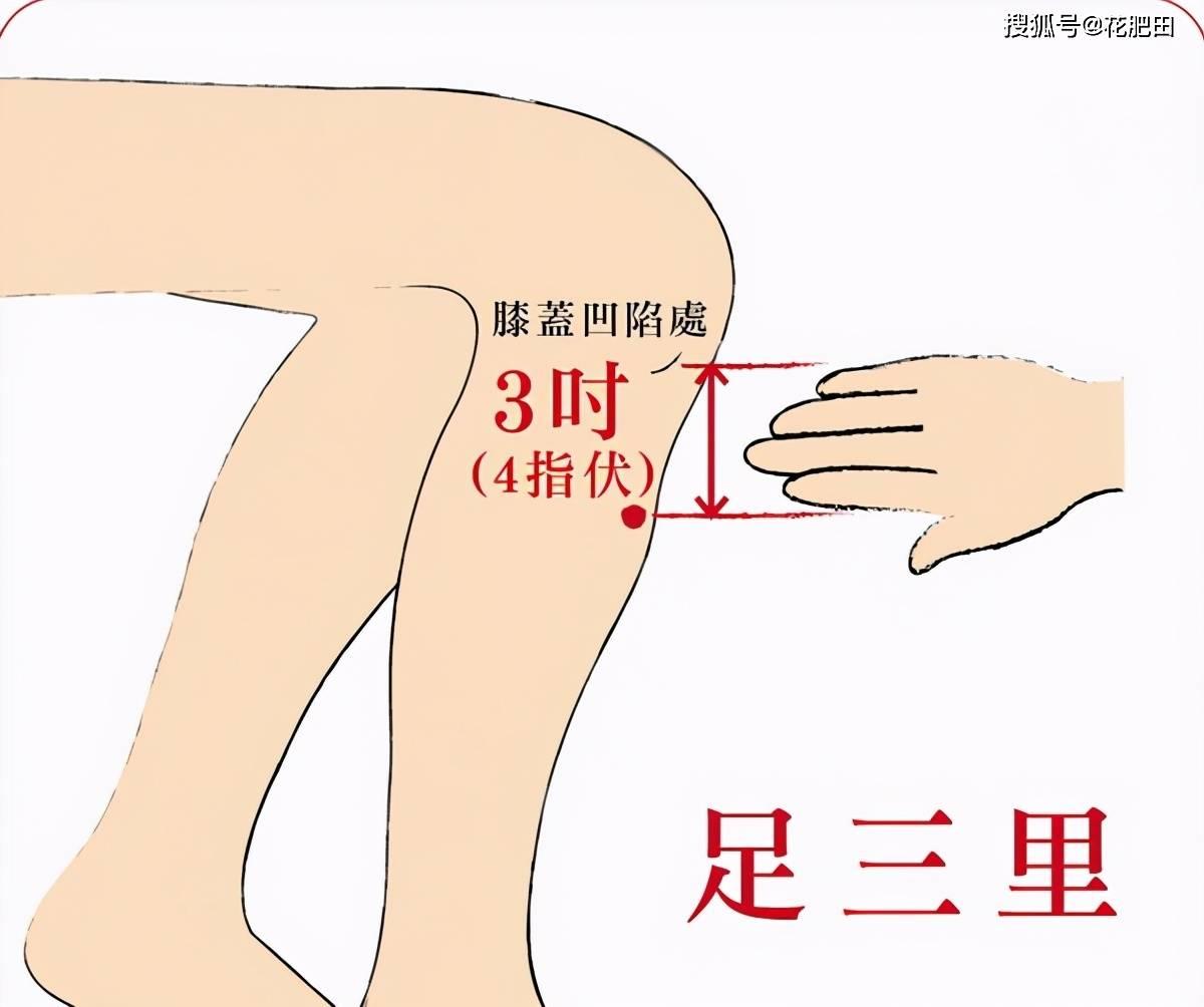 """「中医穴位知识」 灸""""透""""一个穴,可以从脚补到头  艾灸祛湿的顺序和部位"""