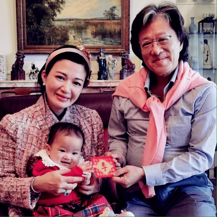 44岁TVB配角二婚嫁大19岁8亿富豪,有5个女儿还想拼儿子