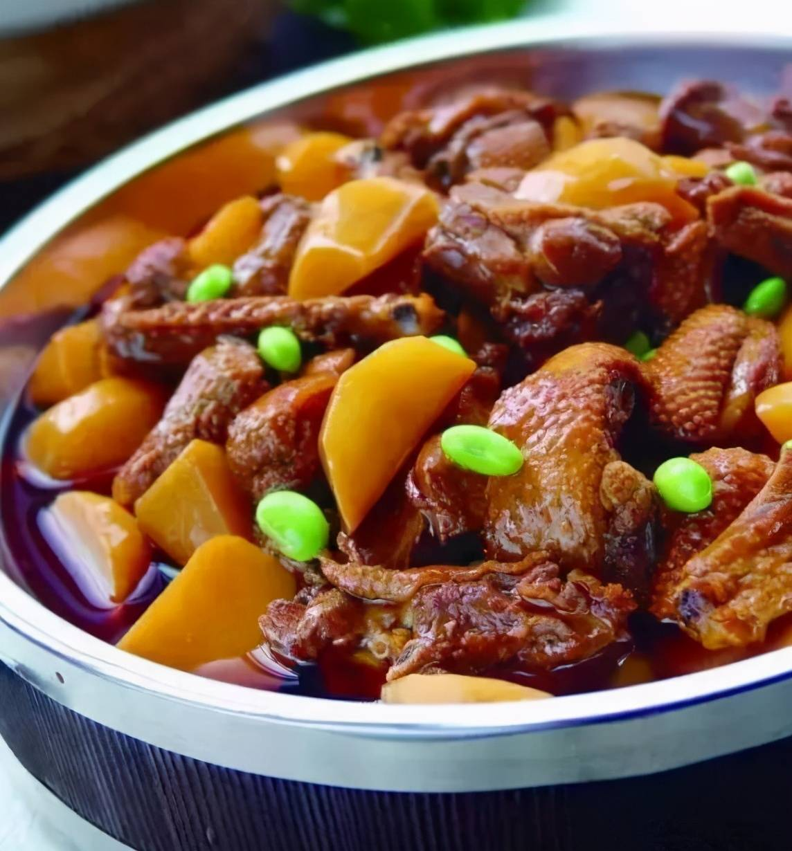 酸笋焖鸭子图片