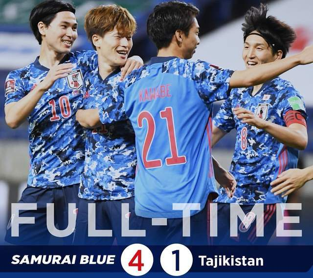 日本队4-1!狂轰41球仅失1球!好消息:中国队离出线又近了一步                                   图2
