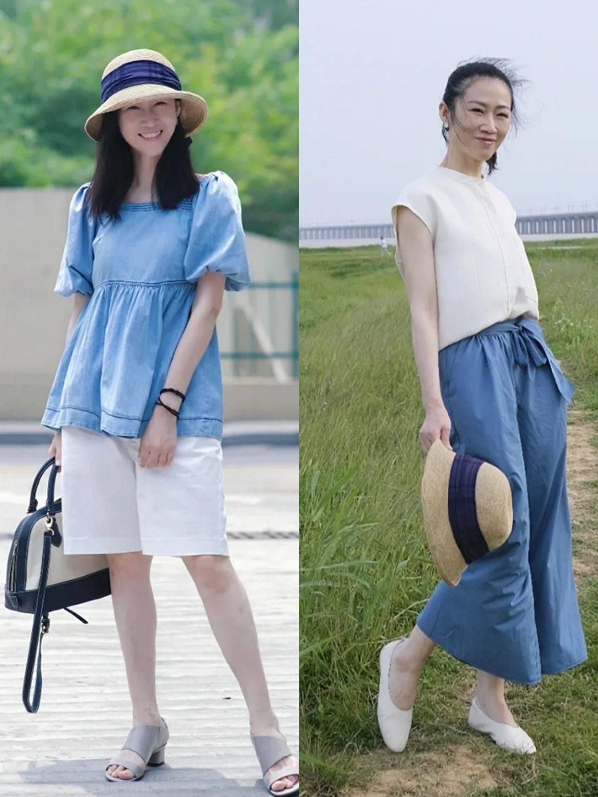 """40岁女人少穿""""廉价色"""",这3种颜色更高级,配色方案都在这里了"""