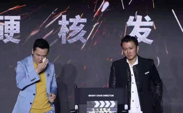 谢霆锋的哭泣,撕掉了香港电影的最后一块遮羞布