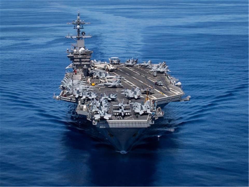 俄军20余艘舰艇夏威夷演习 美军航母迅速抵达