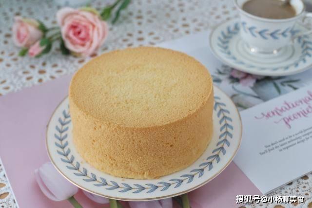 原創             鬆軟細膩的蛋糕要這樣做,成功率高特好吃,學會再也不用花錢去買