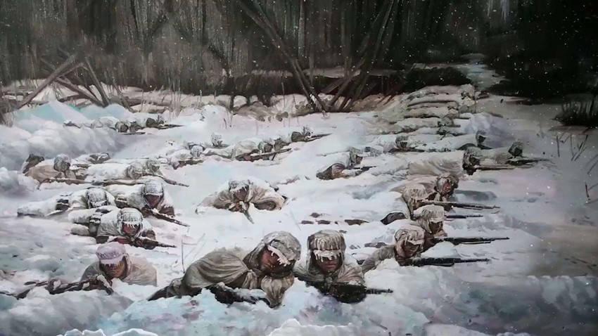 长津湖一战,为何125名战士被冻成冰雕,也不放弃坚守阵地