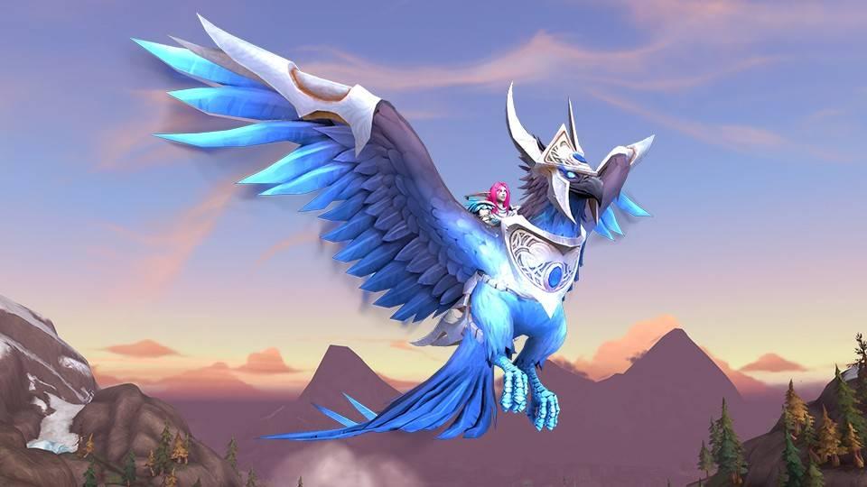 新坐骑预示着新版本(《魔兽世界》神秘蓝鸟上线)