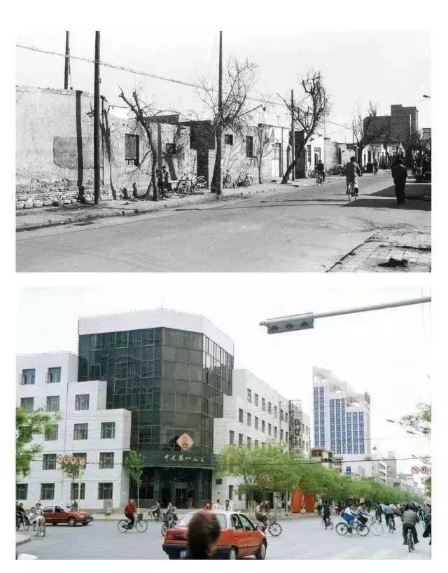 老照片记录银川城市变迁