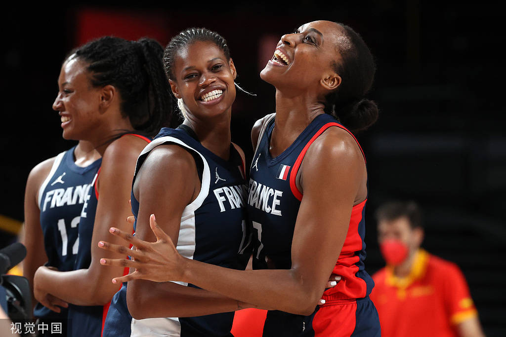 奥运女篮:法国3分险胜西班牙 挺进四强将战日本