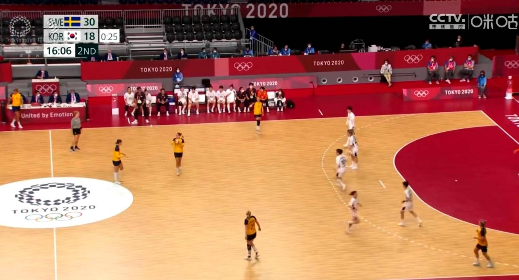 虽败犹荣!东京奥运女子手球诞生4强!韩国憾负瑞典仍创亚洲最佳!