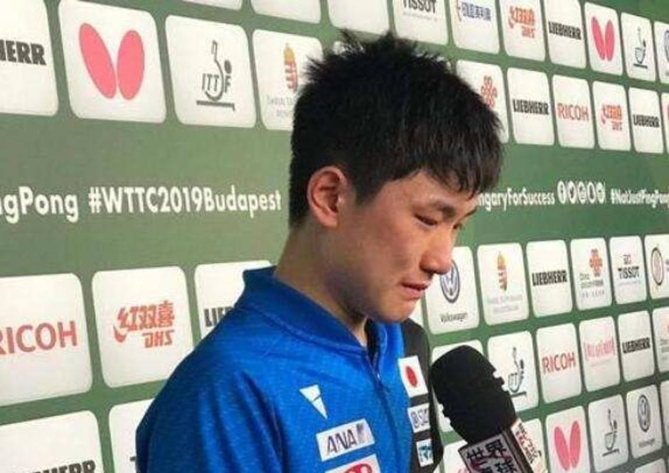 图片[4]-张本智和赢后怒摔球拍,曾叫嚣要打败国乒,网友:应该让他去养猪-番号都