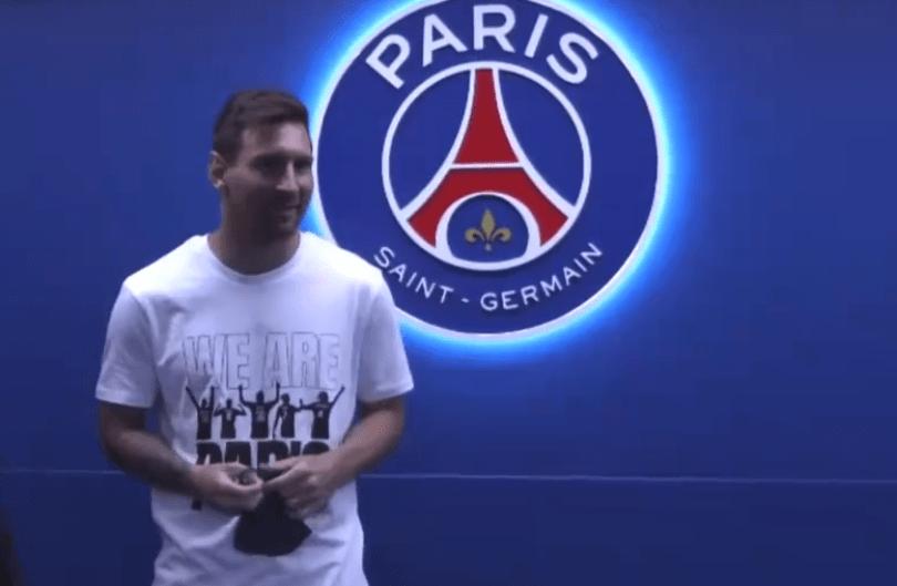 梅西现场见证!大巴黎4-2,姆巴佩一人造3球,全世界都期待三叉戟