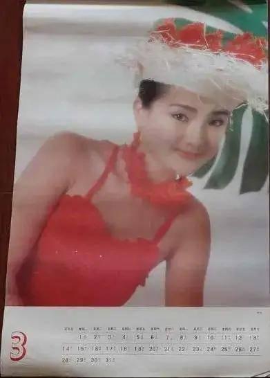 图片[27]-八九十年代的女明星挂历,复古又雷人,都是青春的记忆,好怀念啊-妖次元