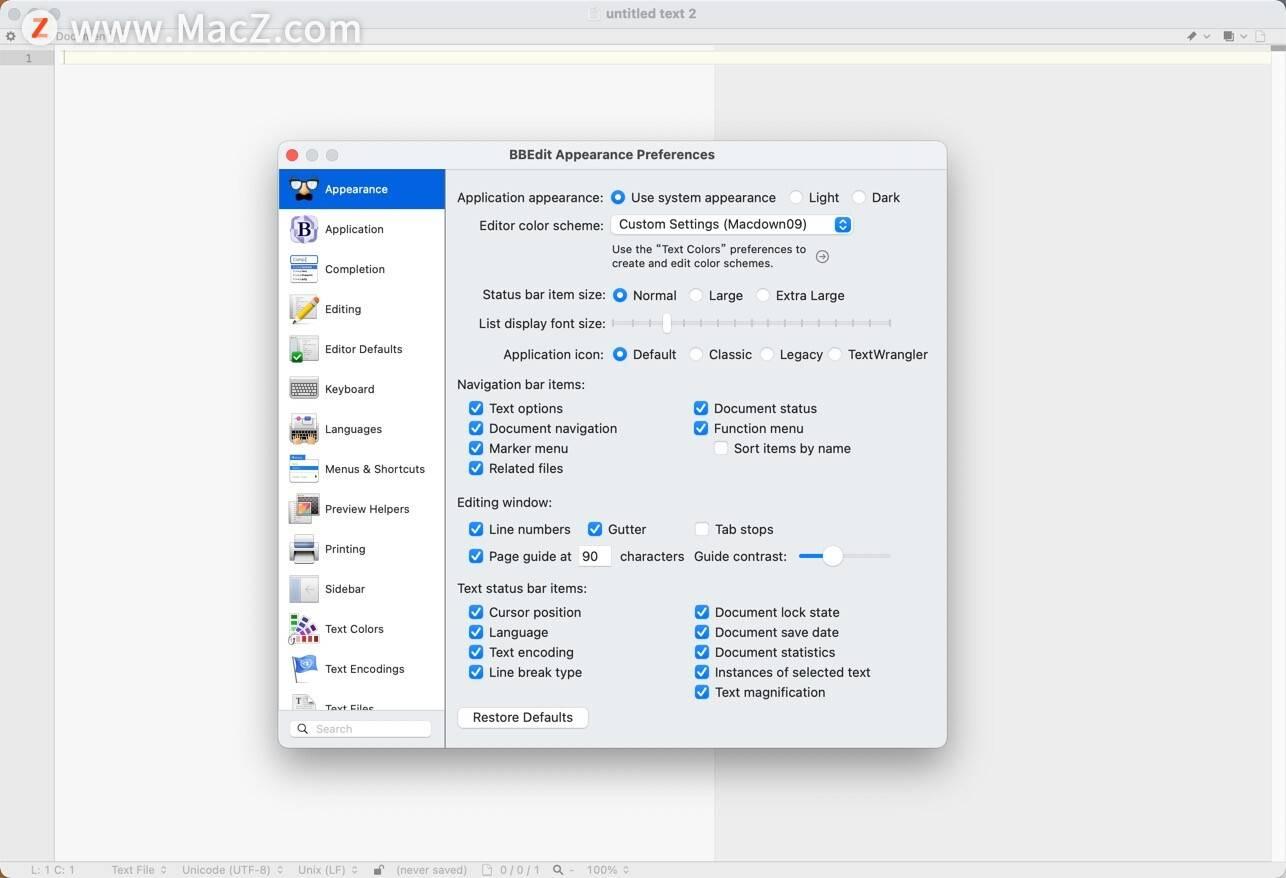 BBEdit for Mac(最好用的HTML文本編輯器) v14.0.1