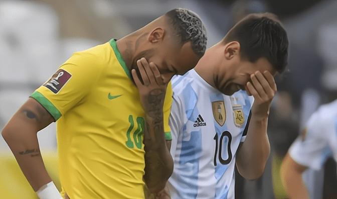 """比赛6分钟后""""赶""""人,梅西和内马尔的对决就这样泡汤了"""