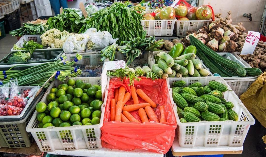 行摄新加坡,带你看看发达国家的菜市场长什么样!