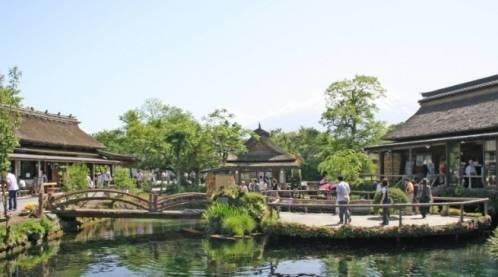 """这里是日本的""""九寨沟"""",位于富士山脚下,据说这里住着龙王"""