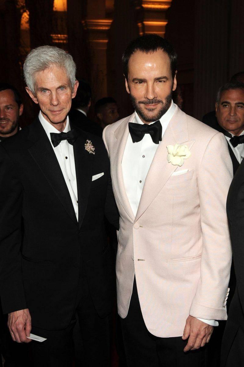 时尚大师背后的男人,Tom Ford丈夫离世,他筑成了TF帝国的一半_理查德·巴克利